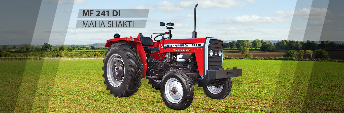 MF 241 DI Tractors are used in Agricultural farms and Water tankers.