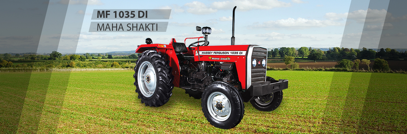 MF 1035 DI is a economical model for Small Farms with 39 HP capacity.