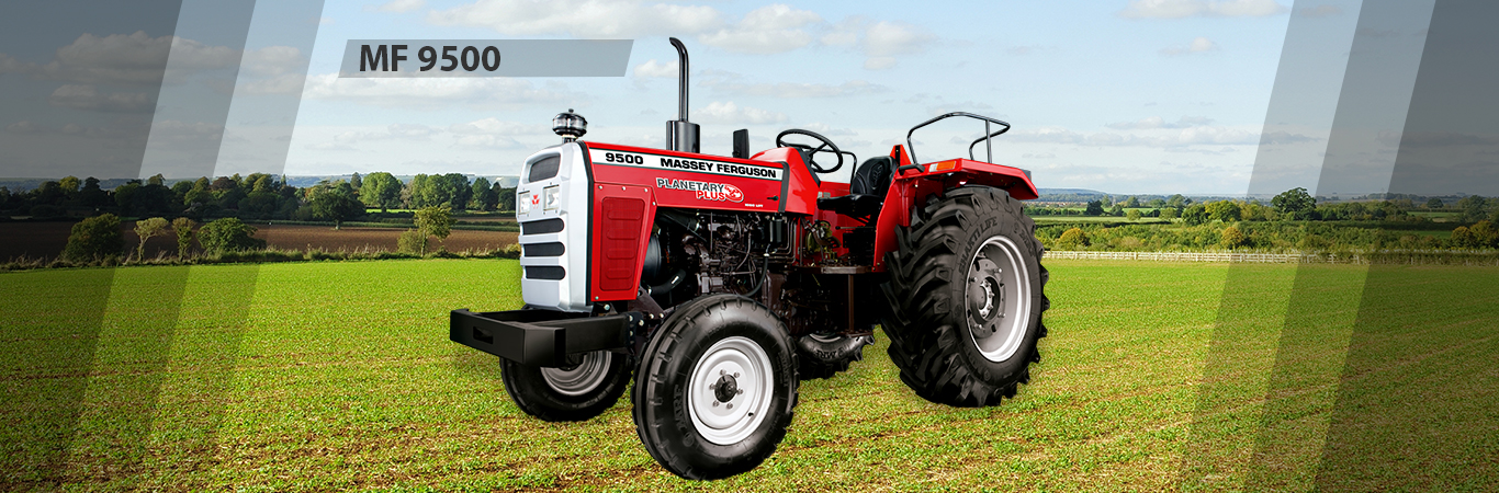 MF 9500 DI PD is a High range Industrial Tractor Model for Land Levelling and other heavy work needed.